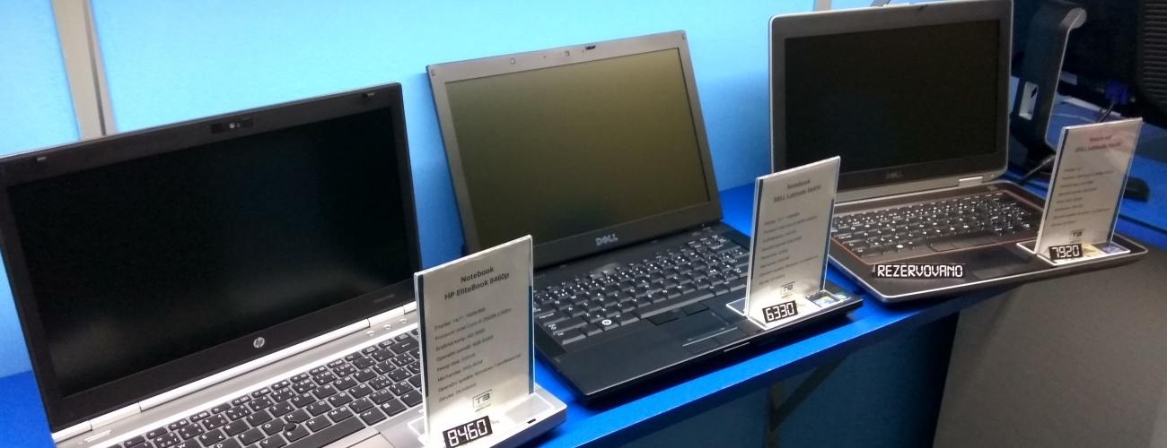 Kvalitní repasované notebooky DELL